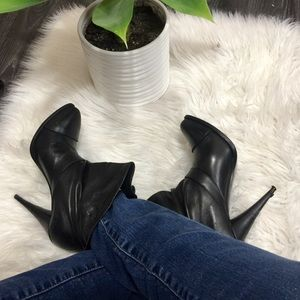 Authentic Givenchy high heel soft leather boots 9